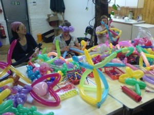 Balloon workshop-truelee peachi
