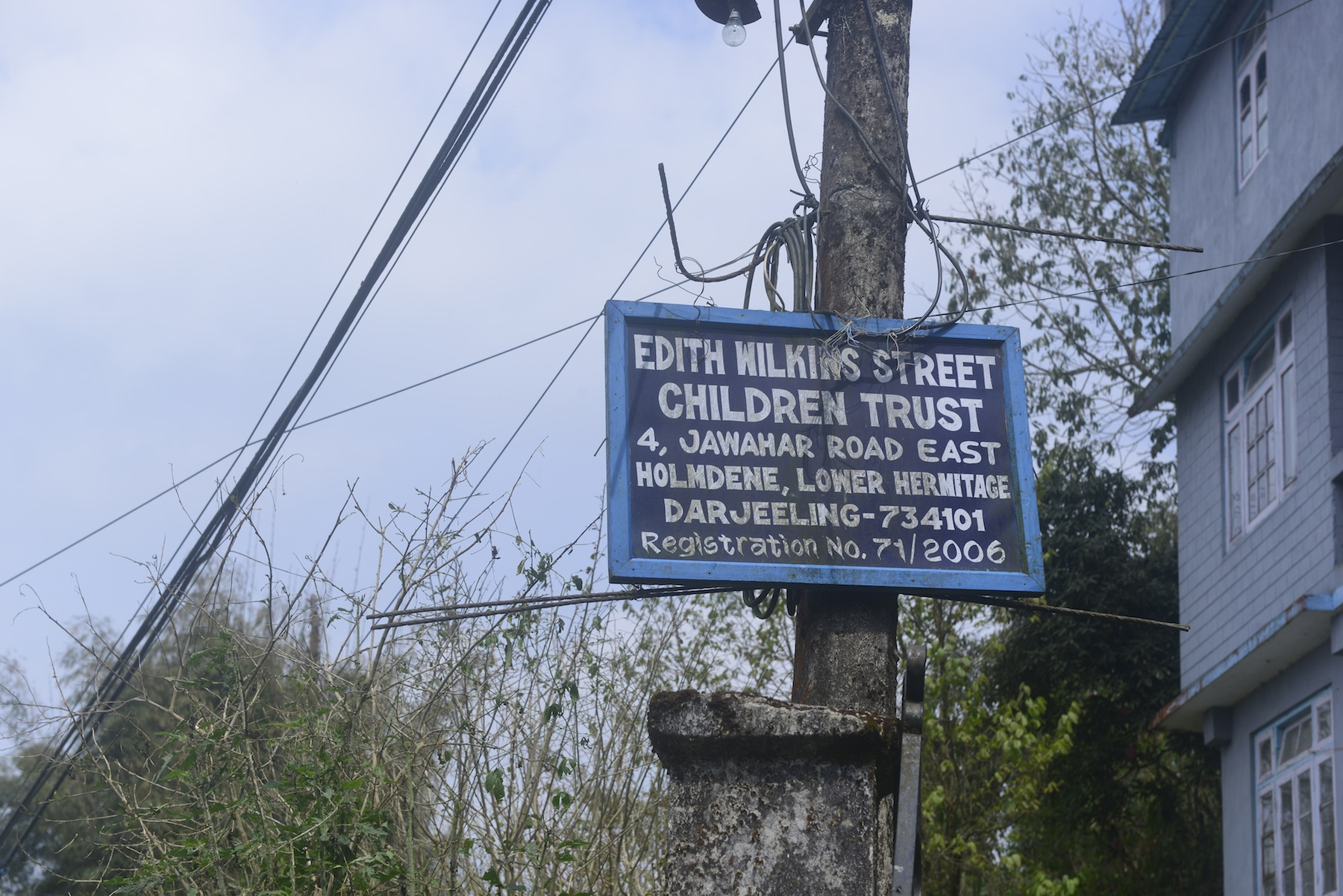 EWSCF sign